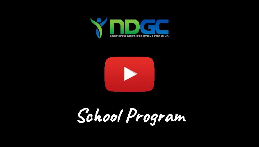 ndgc school program video overlay